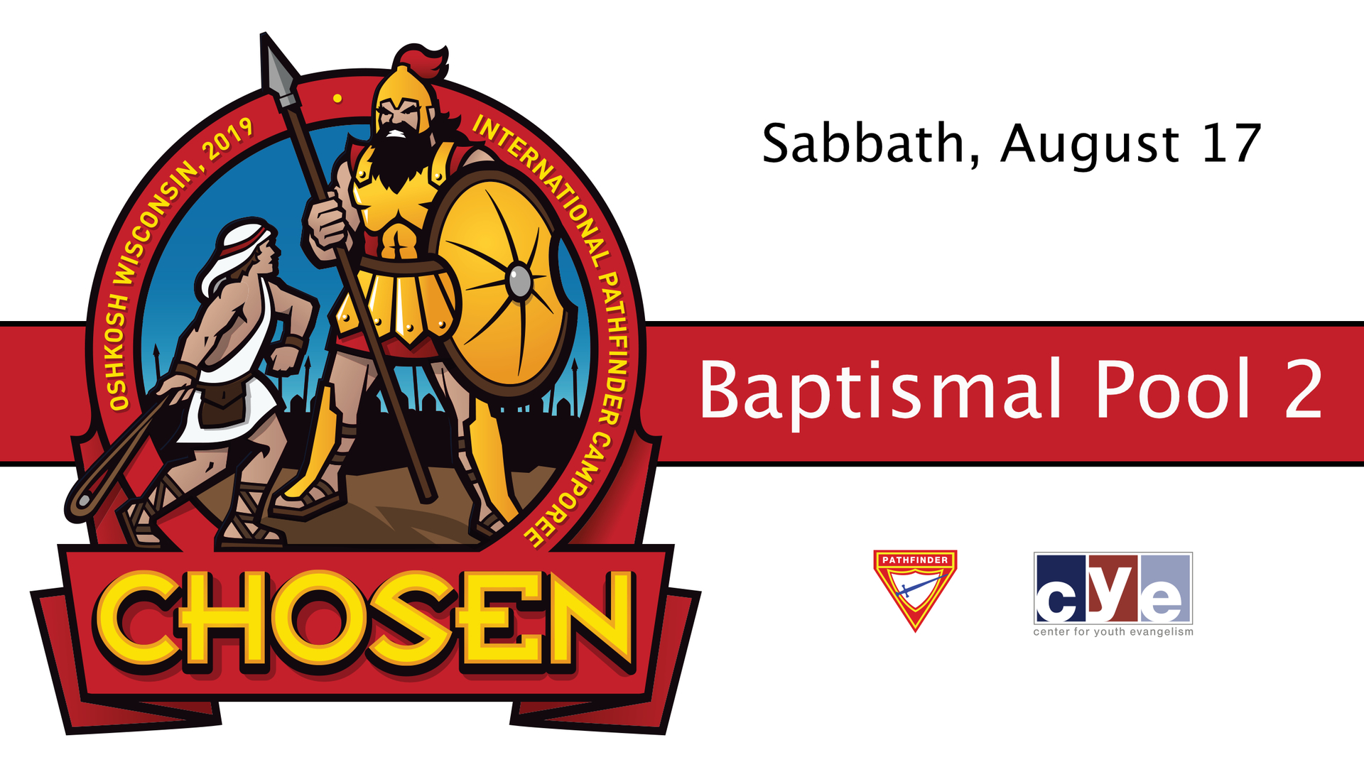 Sabbath's Late Morning and Afternoon Baptisms: Pool 2