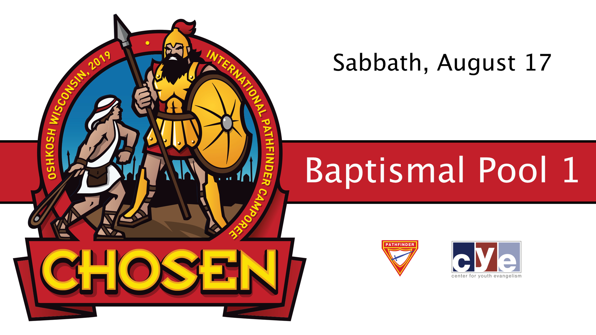 Sabbath's Late Morning and Afternoon Baptisms: Pool 1