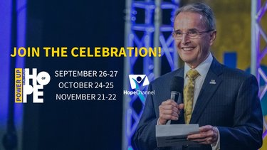 Hope Channel International Celebration of Hope Goes Virtual