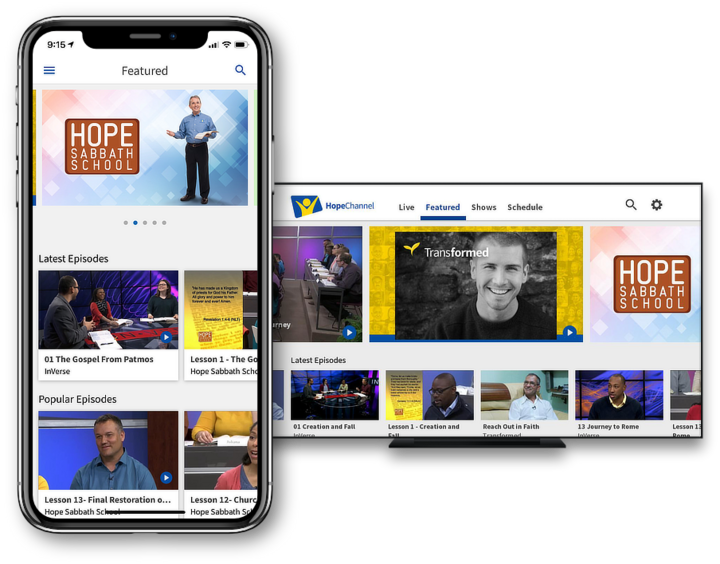 Install the Hope Channel app!: Hope Channel | Christian Television